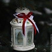 Для дома и интерьера ручной работы. Ярмарка Мастеров - ручная работа Рождественский фонарь. Handmade.