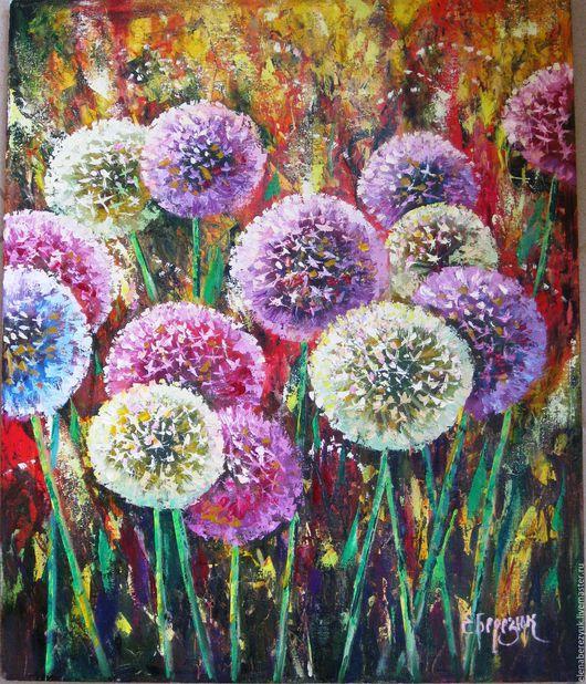 """Картины цветов ручной работы. Ярмарка Мастеров - ручная работа. Купить """"Прекрасный look 3"""" картина маслом на холсте, картины цветов. Handmade."""