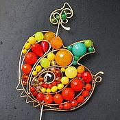 Украшения handmade. Livemaster - original item Brooch Pumpkin (option). Handmade.