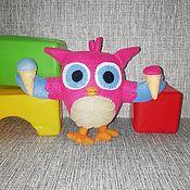 Куклы и игрушки handmade. Livemaster - original item Owlet Hop hop. Handmade.