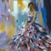 Картины и панно ручной работы. Ярмарка Мастеров - ручная работа картина из шерсти  с девушкой. Handmade.