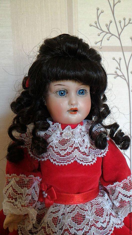 Винтажные куклы и игрушки. Ярмарка Мастеров - ручная работа. Купить Старинная антикварная кукла TREBOR. РЕДКАЯ 28см. Handmade. Композит