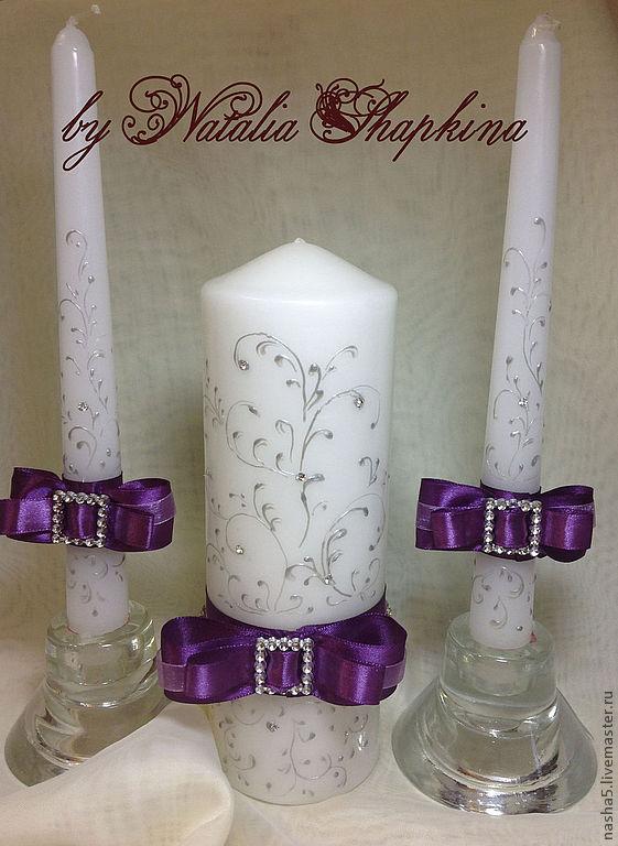 Свеча на свадьбу семейный очаг