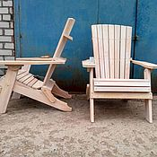 Для дома и интерьера handmade. Livemaster - original item Folding summer chairs Adirondack. Handmade.