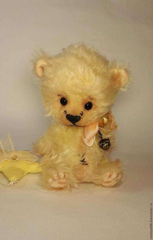 Мишки Тедди ручной работы. Ярмарка Мастеров - ручная работа. Купить Мишка Емельян. Handmade. Бежевый, крем брюле, тедди