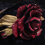 Украшения handmade. Livemaster - original item the colors of the skin. decoration hair headband burgundy flowers. Handmade.