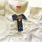 Одежда ручной работы. Ярмарка Мастеров - ручная работа Брошь для школьницы. Handmade.