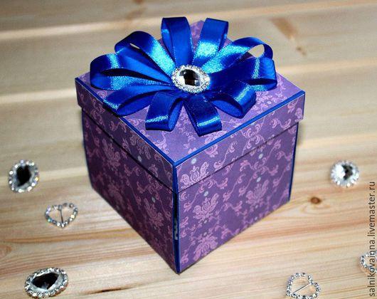 Подарки на свадьбу ручной работы. Ярмарка Мастеров - ручная работа. Купить Коробочка для денежного подарка Шик. Handmade. Комбинированный, брошь