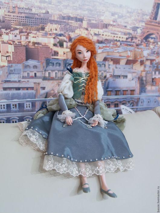 Коллекционные куклы ручной работы. Ярмарка Мастеров - ручная работа. Купить Тали (девочка-эльф). Handmade. Комбинированный, эльф, бисер