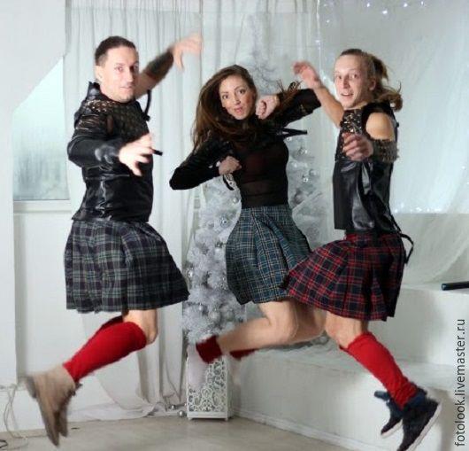 Карнавальные костюмы ручной работы. Ярмарка Мастеров - ручная работа. Купить костюм шотландца. Handmade. Комбинированный, Шотландия, неформальный аксессуар