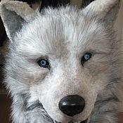 Куклы и игрушки ручной работы. Ярмарка Мастеров - ручная работа голова волка,маска. Handmade.
