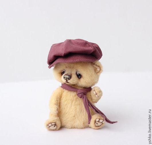 Мишки Тедди ручной работы. Ярмарка Мастеров - ручная работа. Купить Айк мишка тедди 14см. Handmade. Желтый