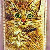 """Сувениры и подарки ручной работы. Ярмарка Мастеров - ручная работа Пряник """" Котёнок"""". Handmade."""