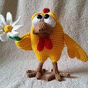 Схемы для вязания ручной работы. Ярмарка Мастеров - ручная работа Мастер-класс Цыплятки вязаные. Handmade.