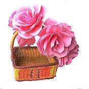 Украшения ручной работы. Ярмарка Мастеров - ручная работа Венок на голову с розами из фоамирана в розовых тонах. Handmade.