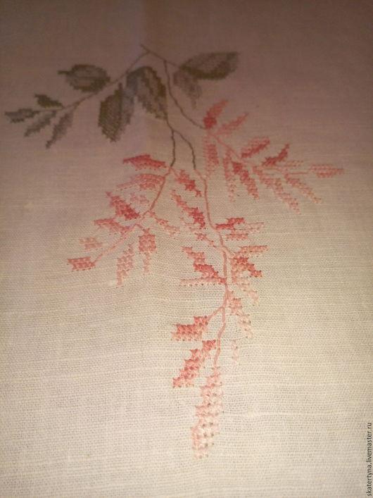 Текстиль, ковры ручной работы. Ярмарка Мастеров - ручная работа. Купить Вышита скатерть. Handmade. Белый, скатерть с вышивкой
