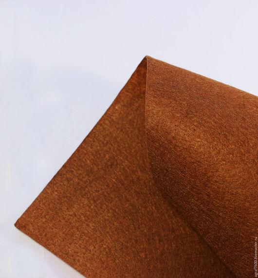 Для украшений ручной работы. Ярмарка Мастеров - ручная работа. Купить Фетр основа для вышивки 20х30 см А4 Корица. Handmade.