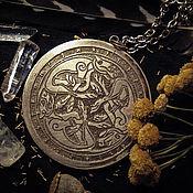 Фен-шуй и эзотерика ручной работы. Ярмарка Мастеров - ручная работа Зеркало ритуальное или просто карманное зеркало. Handmade.