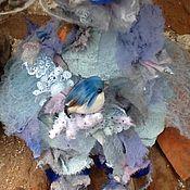 Куклы и игрушки ручной работы. Ярмарка Мастеров - ручная работа В голубые дали.... Handmade.