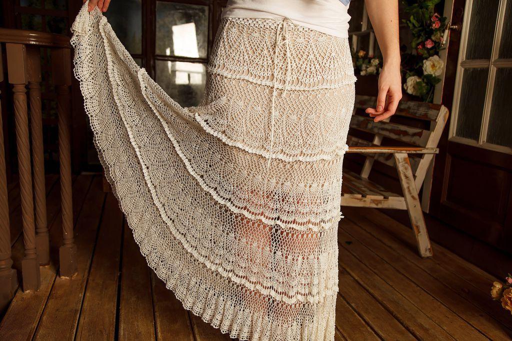 Водопад из юбки
