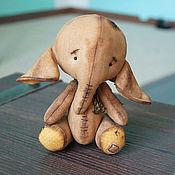 Куклы и игрушки ручной работы. Ярмарка Мастеров - ручная работа Чердачный слон 5). Handmade.