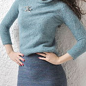 Одежда handmade. Livemaster - original item Wool pencil skirt. Handmade.