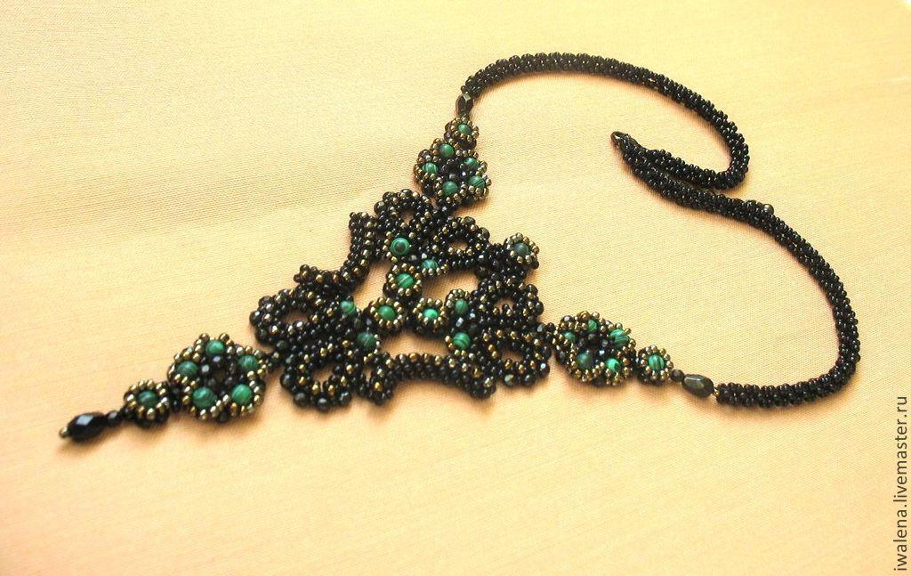 Necklaces & Beads handmade. Livemaster - handmade. Buy necklace 'flower'.Handmade, necklace with pendant