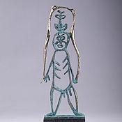 Для дома и интерьера handmade. Livemaster - original item Bear man series of sculptures,