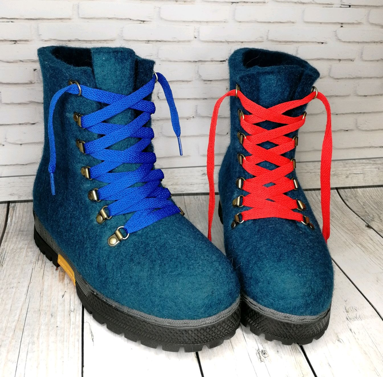 Felted boots 'Adelia' - size 39, High Boots, Ramenskoye,  Фото №1