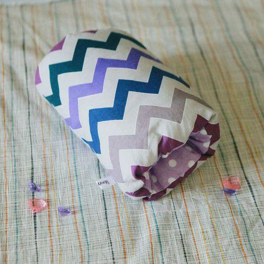 Для новорожденных, ручной работы. Ярмарка Мастеров - ручная работа. Купить Подушка для кормления и укачивания на руку. Handmade. Комбинированный, кормление