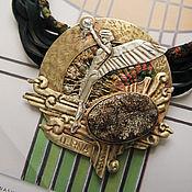 """Украшения ручной работы. Ярмарка Мастеров - ручная работа """"The Aeon guardian"""" кулон, латунь. Handmade."""