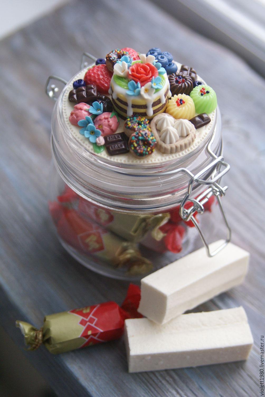 Баночка сладостей своими руками