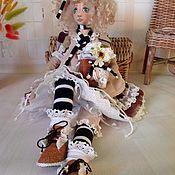Куклы и пупсы ручной работы. Ярмарка Мастеров - ручная работа Авторская текстильная интерьерная кукла. Handmade.