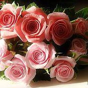 """Украшения ручной работы. Ярмарка Мастеров - ручная работа Венок """"Розовые розы"""". Handmade."""