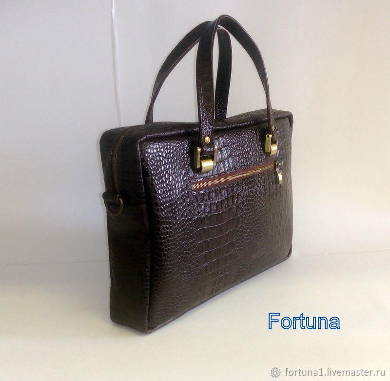 Leather bag 23 p, Classic Bag, St. Petersburg,  Фото №1