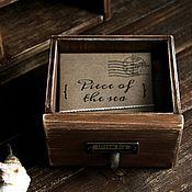 Сувениры и подарки ручной работы. Ярмарка Мастеров - ручная работа Набор фотокарточек Piece of the sea. Handmade.
