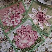 Для дома и интерьера ручной работы. Ярмарка Мастеров - ручная работа салфеточки для вас. Handmade.