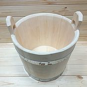 Cooperage handmade. Livemaster - original item Steam bath for brooms 15 l. Handmade.