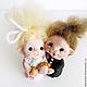 Свадебная пара Феечки Феюшки фигурки на торт