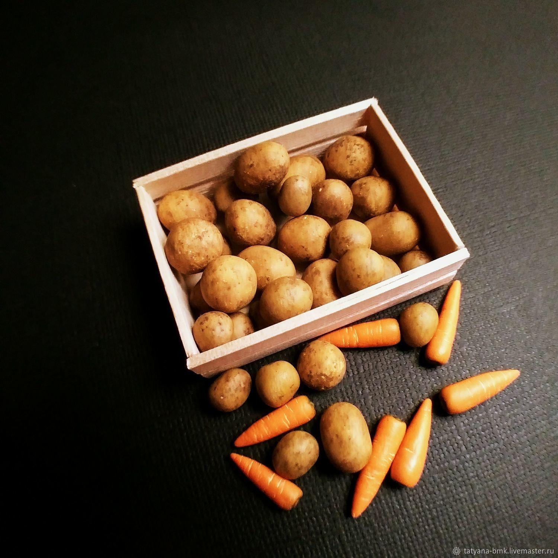 Еда для кукол: картофель, морковь, Кукольная еда, Красноярск,  Фото №1