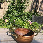 Винтаж handmade. Livemaster - original item Ladle, flower pots, Holland. Handmade.
