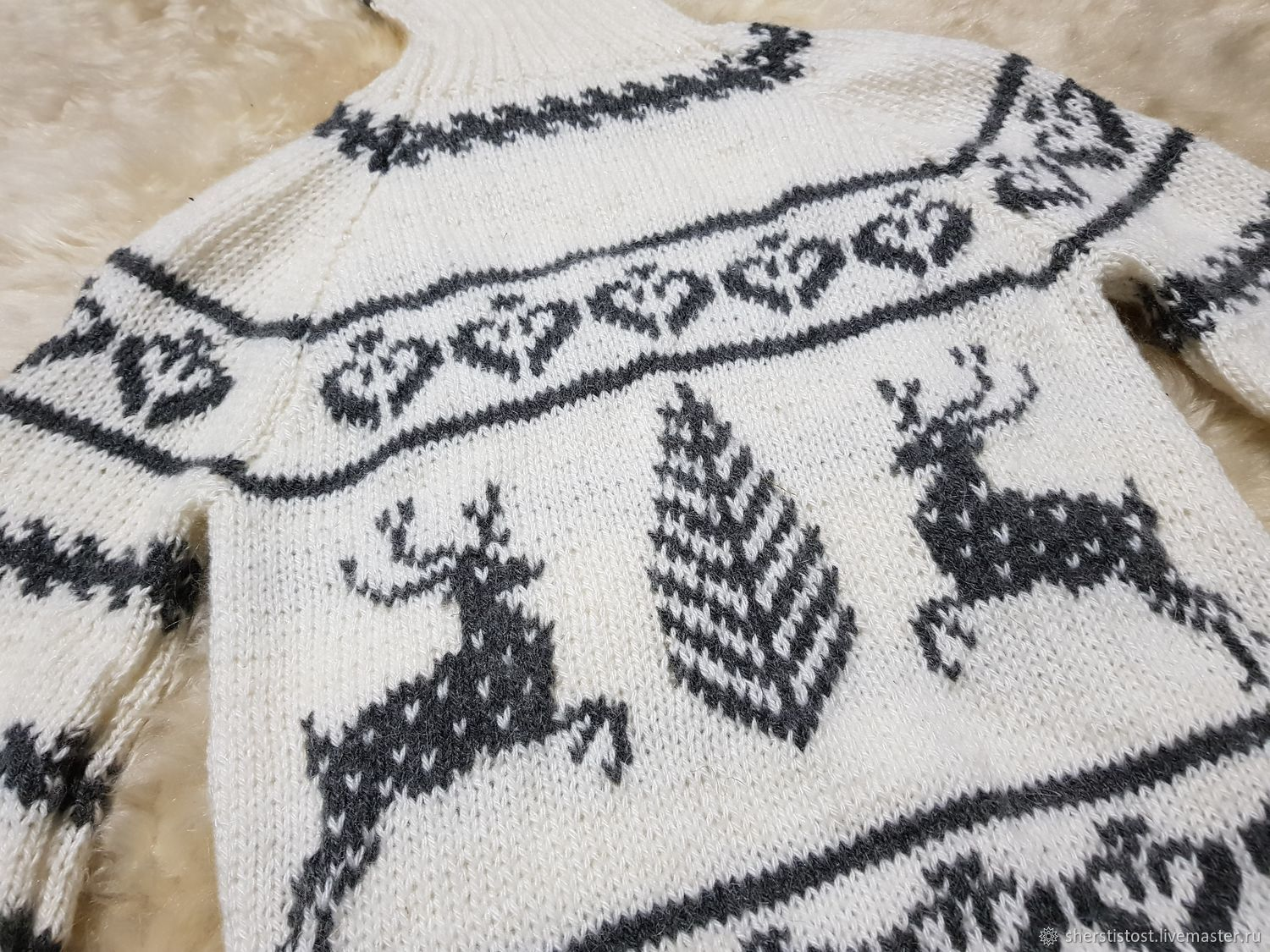 Hand Knitted Sweater Shop Online On Livemaster With Shipping