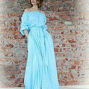 Одежда handmade. Livemaster - original item Floor-length dress. Handmade.