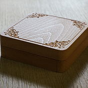 Материалы для творчества handmade. Livemaster - original item Large carved wooden decoration box. Handmade.