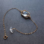 Украшения handmade. Livemaster - original item Jewelry gold Transparency version 2. Handmade.
