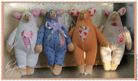 Овечки (текстильные игрушки)