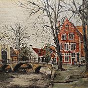 Картины и панно ручной работы. Ярмарка Мастеров - ручная работа Брюгге. Handmade.
