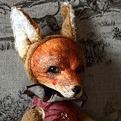 Куклы и игрушки ручной работы. Ярмарка Мастеров - ручная работа Лиса Амелия. Handmade.