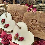 """Косметика ручной работы. Ярмарка Мастеров - ручная работа """"Дамасская роза"""" шелковое мыло с нуля. Handmade."""