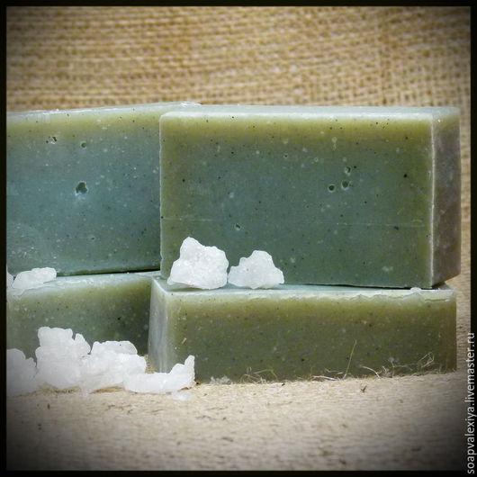 """Мыло ручной работы. Ярмарка Мастеров - ручная работа. Купить Натуральное мыло ручной работы """"Сакские грязи"""". Handmade."""